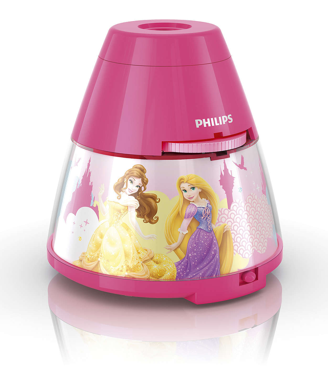 Philips Disney Princess 2-in-1 Portable LED Night Light and