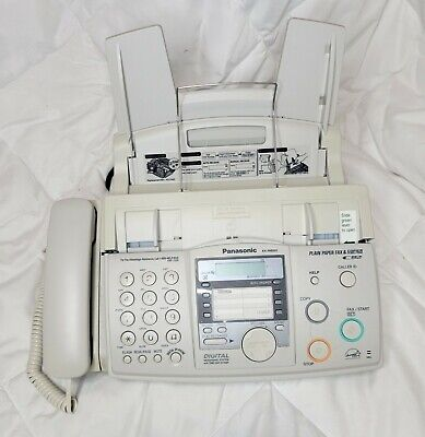 Panasonic Kx-fhd351 Fax Copy Machine Copier Plain Paper Caller Id Telephone