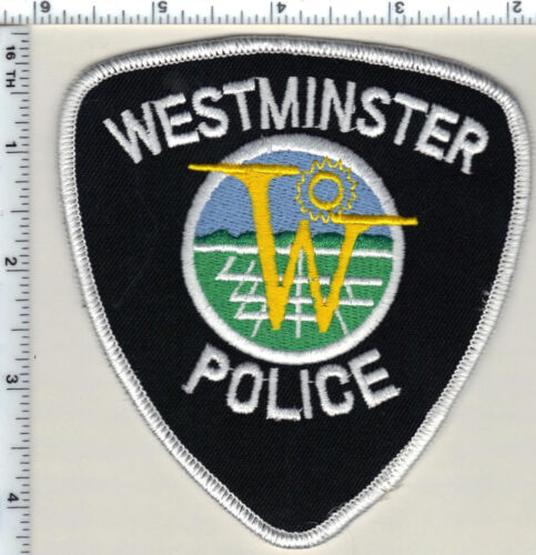Westminster Police (Colorado) Shoulder Patch - new from 1989