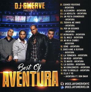 DJ Swerve Best of Aventura Romeo Santos Bachata Mix Collector's (Mix CD) Mixtape
