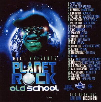 DJ AL Planet Rock Hip Hop Old School Music 80's New York Classics Mixtape CD