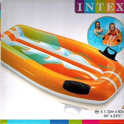 Intex Surfbrett aufblasbar Luftmatratze Surfer Wellenreiter 112 x 62 cm