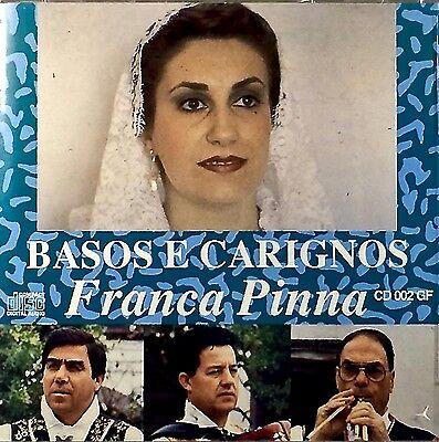 Franca Pinna - Basos E Carignos (CD, Album, First Edition)