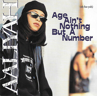 Aaliyah - Age Ain't Nothing But A Number - CD - 13 Tracks - BMG Issue 1994, used for sale  Pittsburg