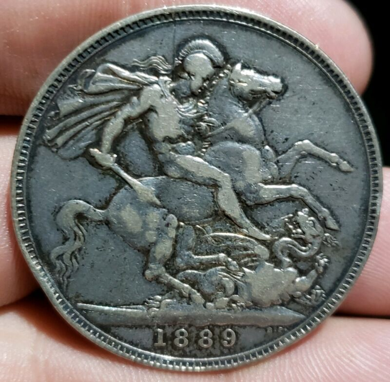 1889 Silver Crown.Great Britain