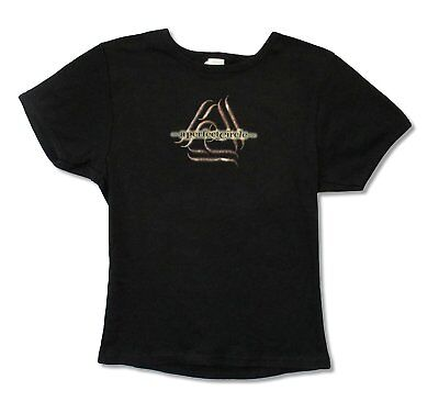 A Perfect Circle Triangle Logo Girls Juniors Black Shirt New Official Band Tool