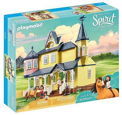 Playmobil Spirit 9475. Casa de Lucky & Spirit. Más de 4 años