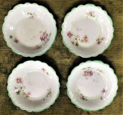 Antique Grindley Berry Bowls (4) Tivoli Pattern