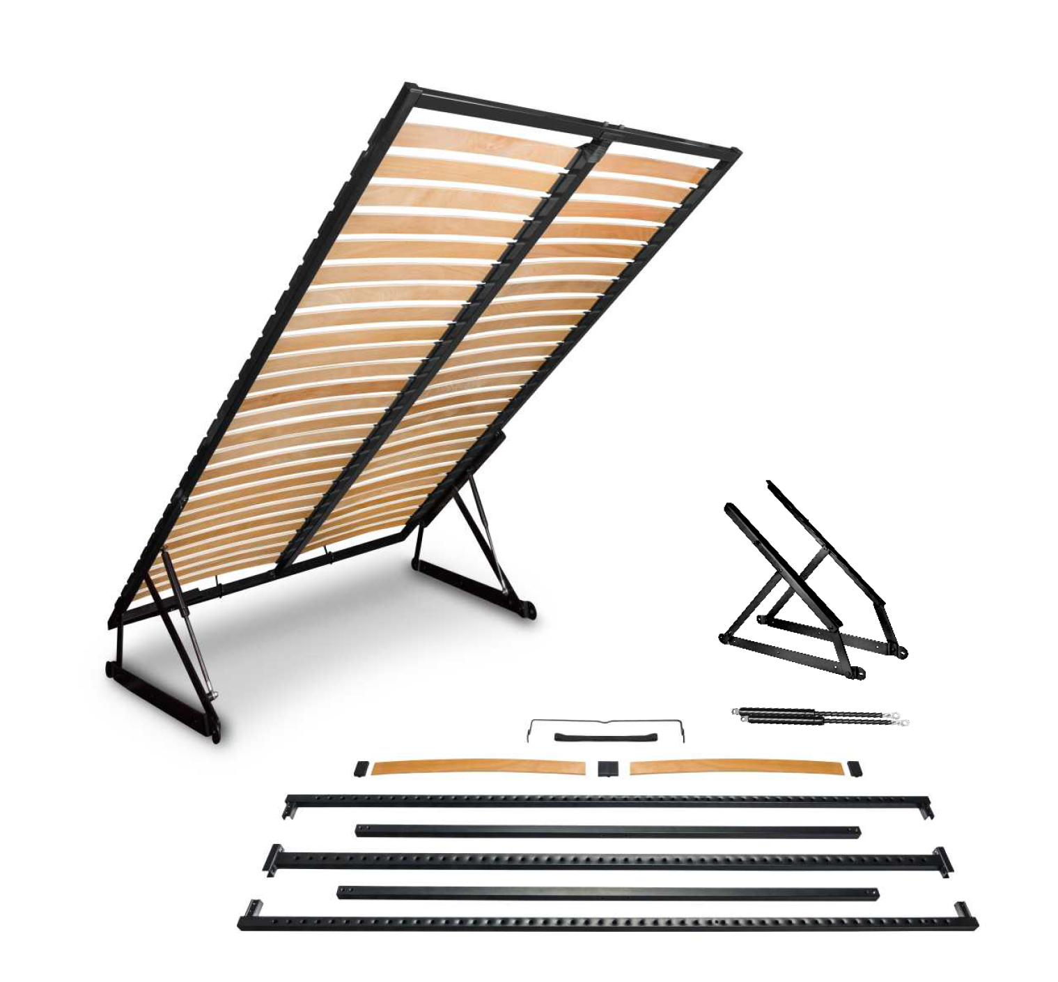 Lift Lattenrost  Bettkasten Lattenrahmen klappbar Heben Lattenrahmen für Bett