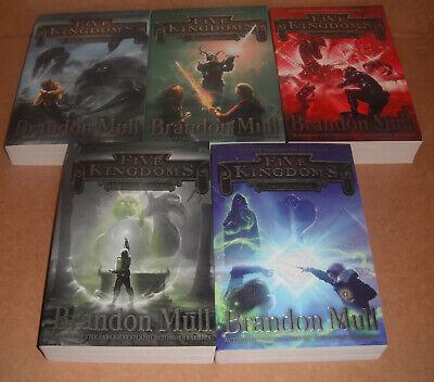 Five Kingdoms Vol.1,2,3,4,5 Complete Set by Brandon Mull  Paperback