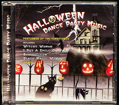 Halloween Dance Party Music by The Tombstones (CD, 2001 St. Clair) (Halloween Music Dance)