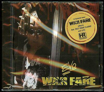 Evo Warfare Cd New Lips From Anvil   Fast Eddie Clarke