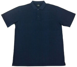 NEW Mens Bamboo Polo Shirt Navy 4XL