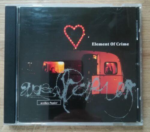 Element Of Crime - 'Weißes Papier' CD Rock Pop Punk