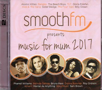 Music For Mum 2017 (2 x CD) Gloria Estefan/Billy Ocean/Roxy Music/Abba/Wham/ELO