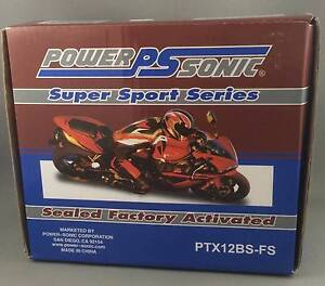 New Motorbike ATV Battery Powersonic PTX12BS-FS Factory Sealed Morningside Brisbane South East Preview