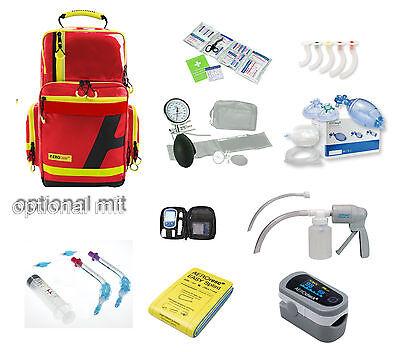 case RPL gefüllt SANi (Rettungsdienst Feuerwehr Arzt Praxis) (Feuerwehr-rucksack)