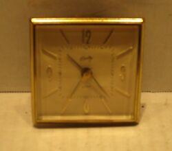 Vintage Germany Bradley Tourist Travel Alarm Clock