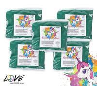 Love Colors Polvo De Unicornio - Holi Polvo 5 X 75 Bolsa (verde) -  - ebay.es