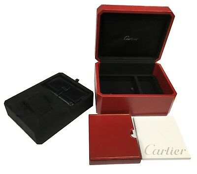 CARTIER ROADSTER BOX + PAPER + LEATHER POUCH: REF: COWA0017 - New