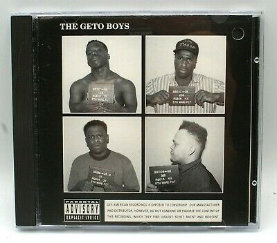 THE GETO BOYS The Geto Boys CD UNPLAYED 1990