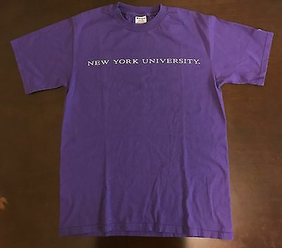 Vintage Champion Nyu New York University T Shirt