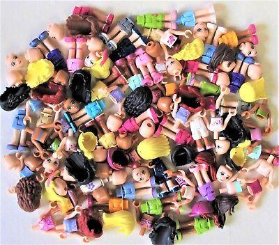 LEGO Friends HUGE BULK MINIFIG PARTS LOT - U BUILD Mini-Dolls NEW 40 pcs/ LOT