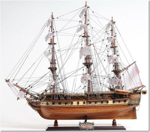 Wooden Model Ship - USS Constitution Medium - Marine Decor