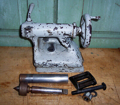 Original South Bend Metal Lathe C9w Complete Tail Stock Quill Spindle Clamp