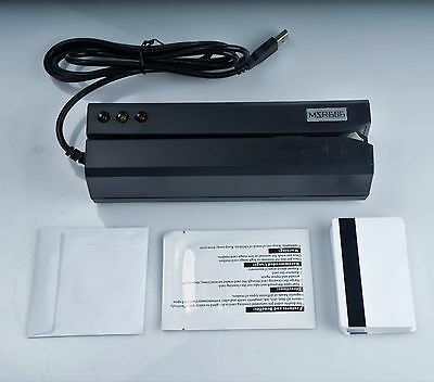 Msr606 Updated Magnetic Stripe Swipe Card Reader Writer Encoder Hi-co 3track Usb