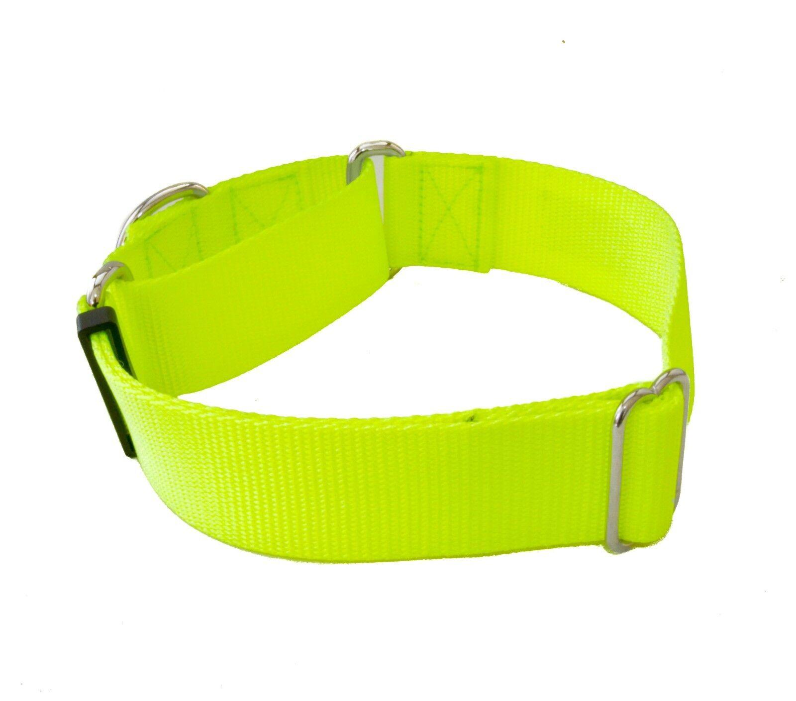1.5 Inch Width Martingale No Slip Dog Collars - Heavy Duty 1