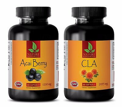 Energy protein powder - CLA - ACAI BERRY COMBO - cla ultimate -