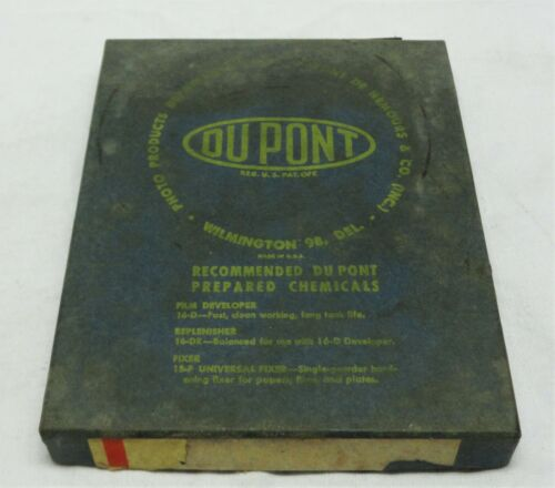 Expired Dupont X-F Pan Photographic Paper 4x5 , Vintage Film Camera Developing