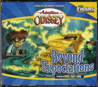 NEW Beyond Expectations Volume 8 Adventures in Odyssey Audio CD Drama Story Disc