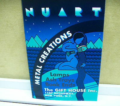 NUART METAL CREATIONS THE GIFT HOUSE INC  NUDES OTHER FIGURES CATALOG REPRINT