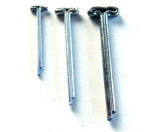 T-Kopf-Splinte 1,6 x 20 mm / 50 Stück - bärenmachen mini teddy bär gelenke
