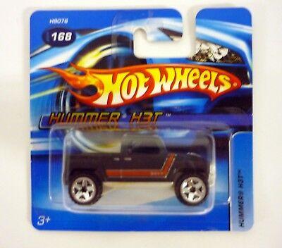 Hot Wheels 2005 Black #168 Hummer H3t