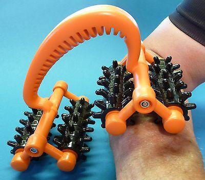 Handheld 20 rollende Räder Massage Roller mit 2 beweglichen GELENKEN      650-94