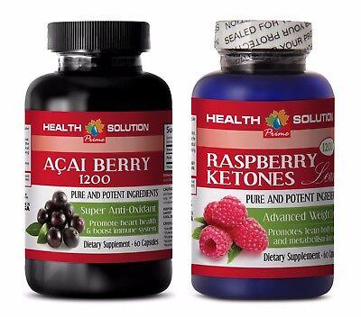 Best Antioxidant - ACAI BERRY – RASPBERRY KETONES COMBO - raspberry ketone