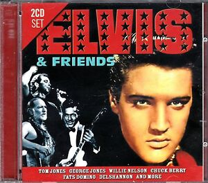 ELVIS-PRESLEY-ELVIS-FRIENDS-on-2-CDs-NEW