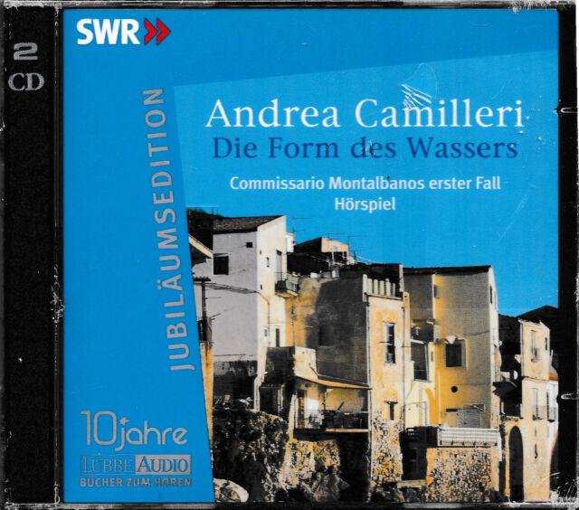 Andrea Camilleri - Die Form des Wassers (Jubiläums Edition) / 2-CD Hörbuch / NEU