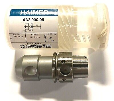 Haimer Hsk-a3 Tool Holder 8mm X 60mm Made In Germany A32.000.08