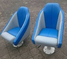 Boat Seats. Two bucket style helm and passenger seats. Dicky Beach Caloundra Area Preview
