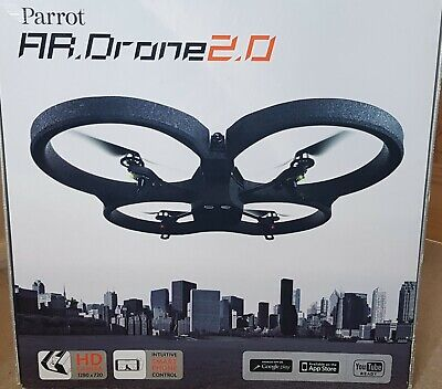 Good condition AR Drone 2.0 with three batteries, two hulls and charger.
