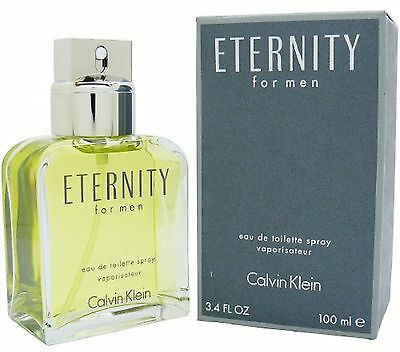 ETERNITY for Men by CALVIN KLEIN 3.4 oz edt New in box