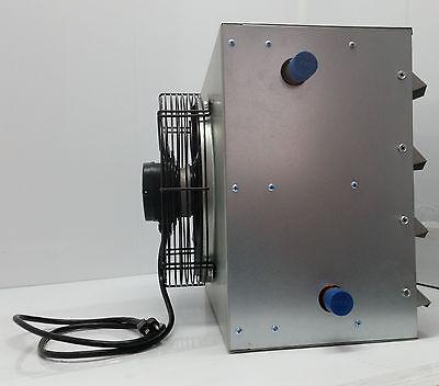 100k BTU Hot water hanging heater,  Variable speed fan NO WIRING NEEDED!