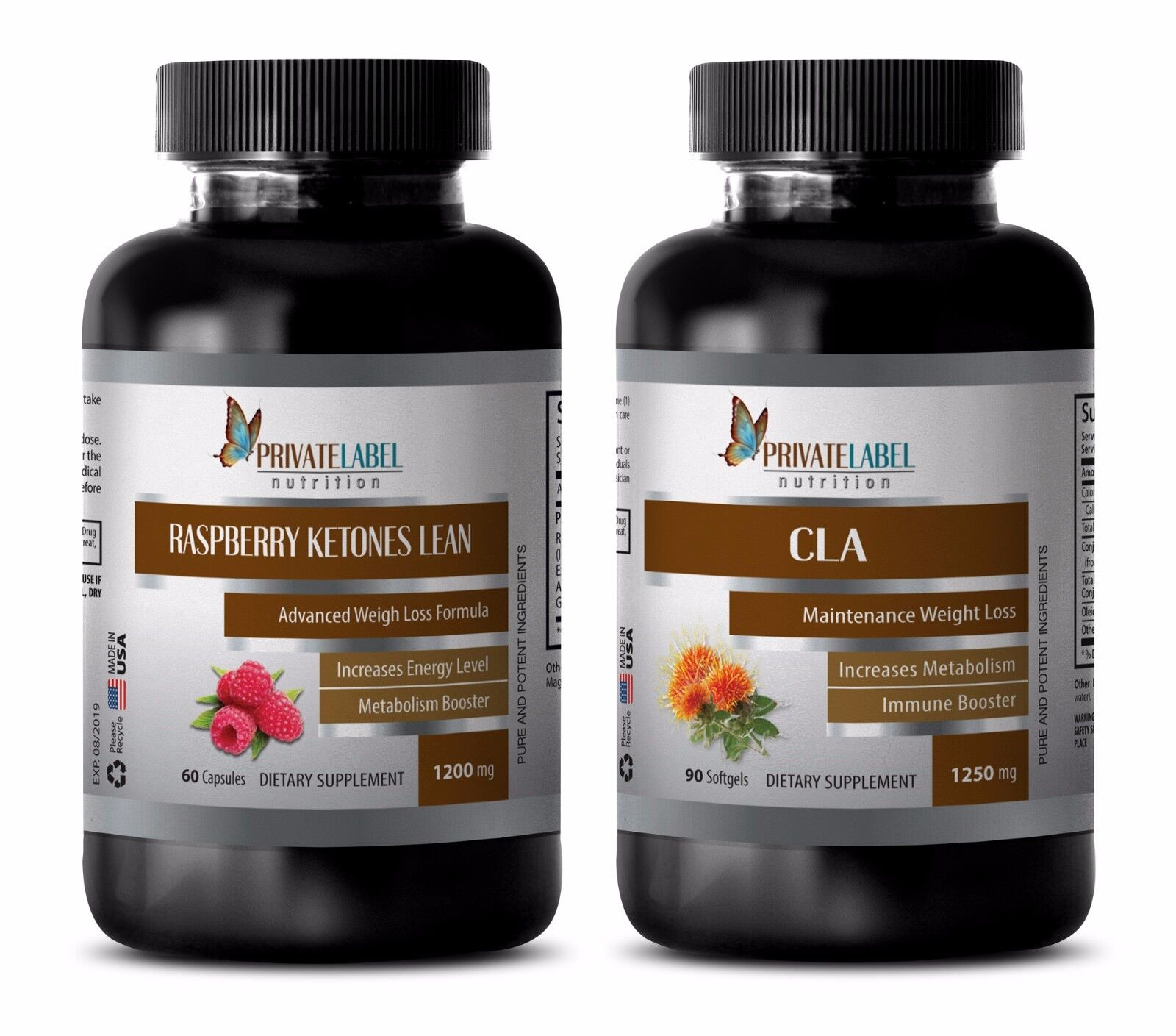 Weight loss products - RASPBERRY KETONES – CLA COMBO - cla