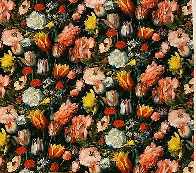 100%Baumwollstoff ✓Fotoprint Digitaldruck ✓Dekostoff ✓bunte Blumen - Strauß Kostüm Kinder