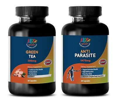 parasite cleanse for humans best seller - GREEN TEA - ANTI-PARASITE COMBO 2B -