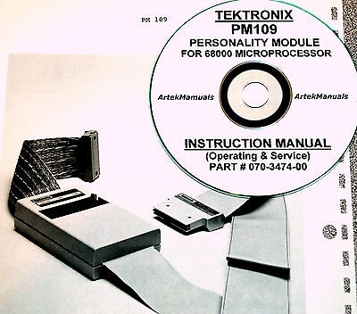 Tektronix Ops Service Manual For The Pm109 Personality Module For 7d02